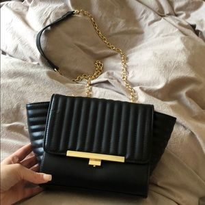 Bebe shoulder evening bag